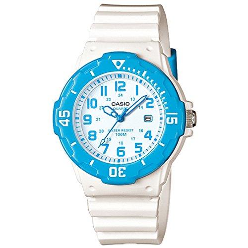 CASIO LRW-200H-2B - Reloj de pulsera, para hombre, color azul y blanco