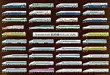 1000 piece N gauge scale Shinkansen collection 61-345