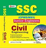 SSC CPWD - MES 2015 Civil Engineering (Junior Engineering Recruitment Exam) Includes Solved Paper 2013 - 2014: Civil Engineering - Junior Engineer Recruitment Exam