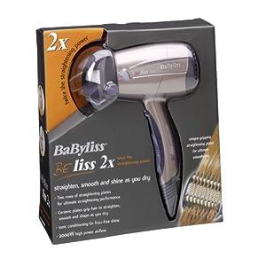 BaByliss 5720U BEliss 2x Hair Straightening Dryer