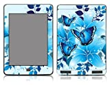 Funky Cool Blue Butterflies By Szone Vinyl Skin Sticker Decal for Amazon Kindle Touch