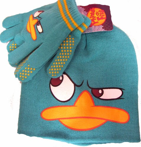 Disney Phineas and Ferb Agent P Beanie and Glove Set Boys 2-7 at Sears.com
