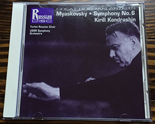 Myaskovsky: Symphony No. 6 (Great Russian Artists) (Great Russian Symphonies compare prices)