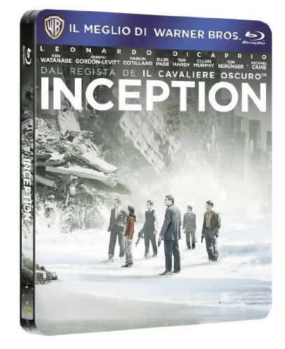 Inception (steelbook) (limited edition) [Blu-ray] [IT Import]