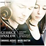 Onslow/Sonates pour Violoncelle et Piano