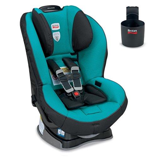 Britax Boulevard G4 Convertible Car Seat And Cup Holder, Laguna front-906606