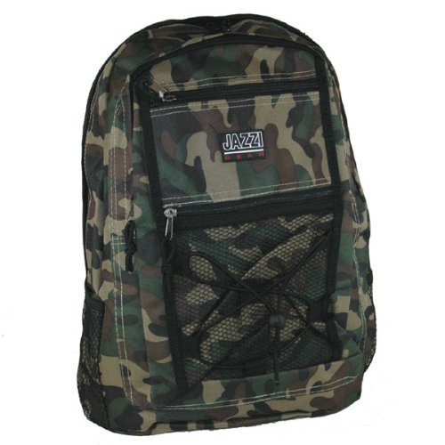 Army Military Camo Mens Boys Backpack A4 School Student College Uni Work Bag