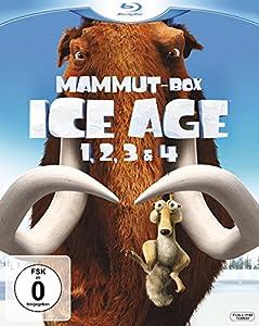 Ice Age 1, 2, 3 & 4 (Mammut-Box) (4 Blu-rays) [Blu-ray]
