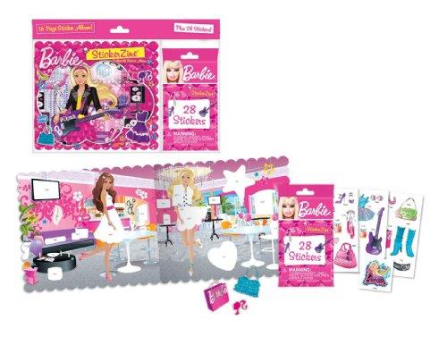 StickerZine Barbie Collectible Sticker Album - 1