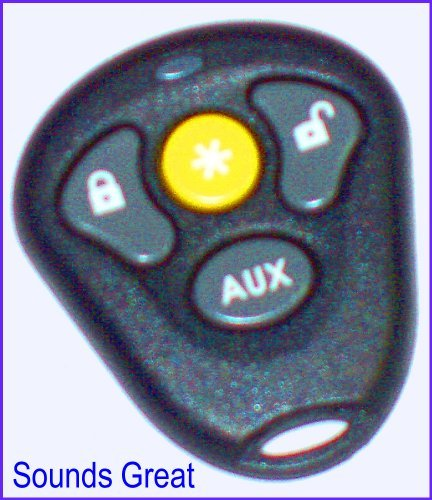 874T Directed 4-Button Replacement Case for 474T Remote