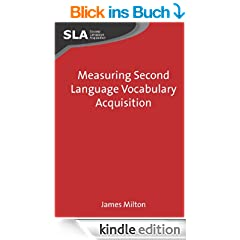 Measuring Second Language Vocabulary Acquisition (Second Language Acquisition)