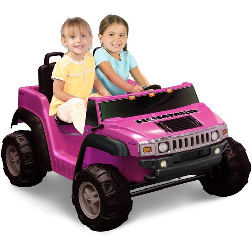 Kid Motorz Two-Seater Hummer H2 Girls\' 12-Volt B