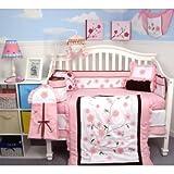 Boutique Dragonflies Garden Baby Crib Nursery Bedding 10 pieces Set **Below ....