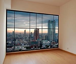 AWM C5 appartement vue de la fenêtre de Tokyo , au Japon photo de