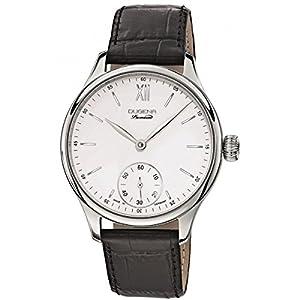 Dugena 7000116 - Reloj de pulsera hombre, piel, color negro