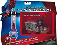 Spiderman Marvel Watch and Wallet