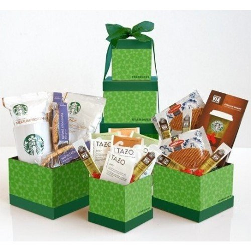 Sweet Indulgence Premium Starbucks Coffee Gift Basket