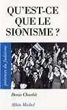 echange, troc Denis Charbit - Qu'est-ce que le sionisme ?