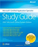 img - for The Microsoft Certified Application Specialist Study Guide book / textbook / text book