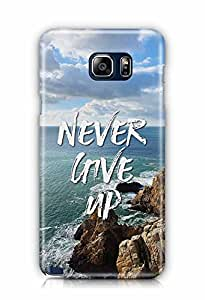 YuBingo Never Give Up Designer Mobile Case Back Cover for Samsung Galaxy Note 5