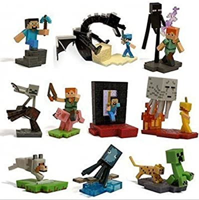 Minecraft Craftables Series Figure Ender Dragon set of 10 from Minecraf