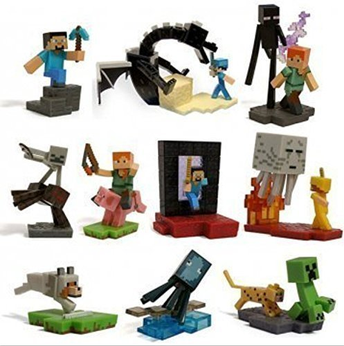 Minecraft-Craftables-Series-Figure-Ender-Dragon-set-of-10