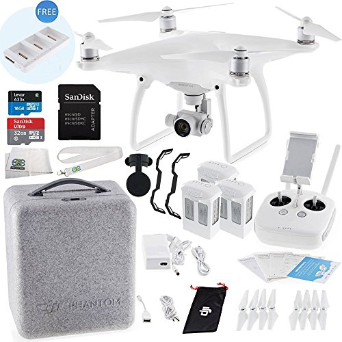 DJI-Phantom-4-Quadcopter-Ultimate-Bundle