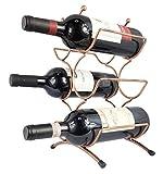 ワインボトルホルダー ワインスタンド ワインラック ヴィンテージ ブロンズ 6本用