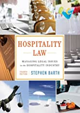 Hospitality Law: Managing Legal Issues in the Hospitality Industry, 4th Edition (Coursesmart)
