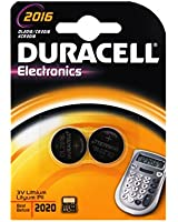 Duracell Pile Lithium Bouton 2016  x2