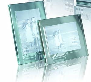 heavy glass photo frame 5 x 7inch