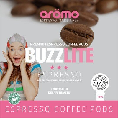 Aromo 'Buzz Lite' ESE Coffee Pods 100 of Decaf espresso