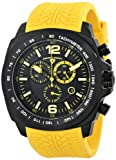 Swiss Legend Mens 21046-BB-01-YAS Sprinter Analog Display Swiss Quartz Yellow Watch