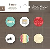 Studio Calico Snippets Badges Embellishments