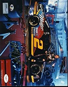 Rusty Wallace Autographed Photograph - 8x10 - JSA Certified - Autographed NASCAR... by Sports Memorabilia