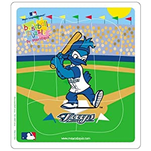 Toronto Blue Jays MLB Licensed 9-pc Puzzle for Toddlers by Hunter