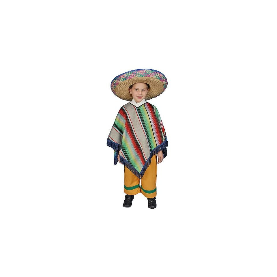 Mexican Boy Toddler Costume