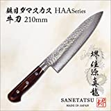 SANE TATSU- Japanese Pro Chef Knives Damascus VG-10 Forged Steel
