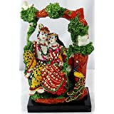 Paras Magic Marble Jhoola Radha Krishna JRK2 Idol (Standard,Multicolor)