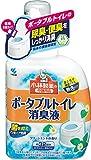 小林製薬の介護用品 ポータブルトイレ消臭液 無色 クリーンミントの香り 400ml 約32回分