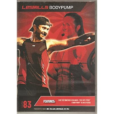 Les Mills Bodypump 83 DVD/CD: Les Mills: Amazon.com: Books