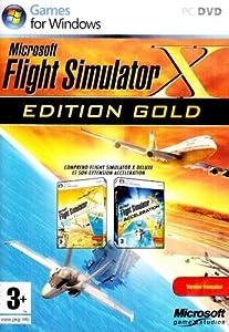 Flight Simulator X - édition gold