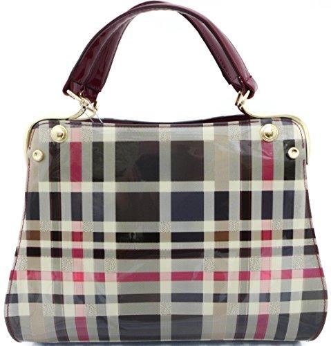 damen-tasche-karo-lack-tom-eva-luxus-handtasche