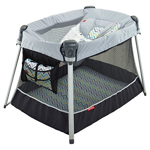 Day & Night Play Ultra-Lite Yard in Grey (Fisher Price Mini Bag compare prices)