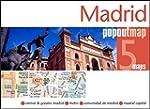 Madrid Popout Map - handy pocket size...