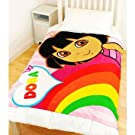Childrens/Kids Dora the Explorer Fleece Blanket