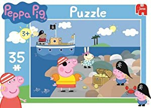 Amazon.com: Peppa Pig Jigsaw 35 Pieces - Pirate George With Treasure
