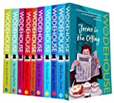P G Wodehouse P G Wodehouse Collection - 10 Books - Jeeves in the Offing, Stiff Upper Lip Jeeves, Mating Season, Code of the Woosters, Carry on Jeeves, Much Obliged Jeeves, Aunts Aren't Gentlemen, Right Ho, Jeeves, Thank You Jeeves, Inimitable Jeeves