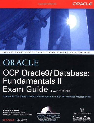 OCP Oracle9i Database: Fundamentals II Exam Guide