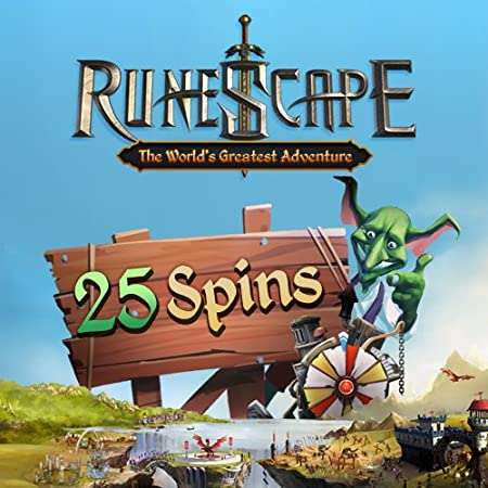 25 Squeel of Fortune Spins: RuneScape [Game Connect]